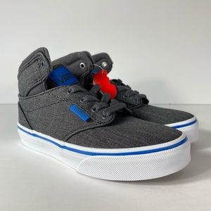 Vans Atwood Hi S17 Textile Grey Blue Sneakers